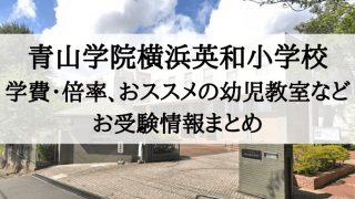 青山学院横浜英和小学校 学費 倍率