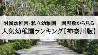 人気幼稚園 神奈川