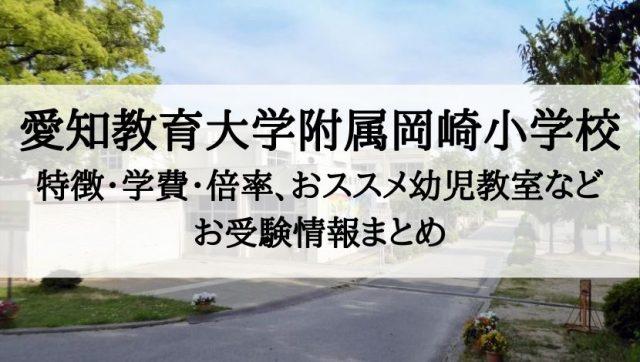 愛知教育大学附属岡崎小学校