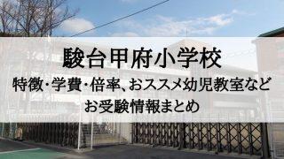 駿台甲府小学校